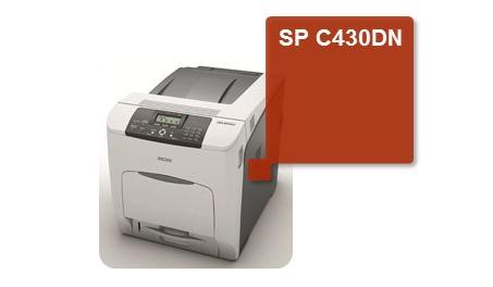 SP C430 dn Sustitución