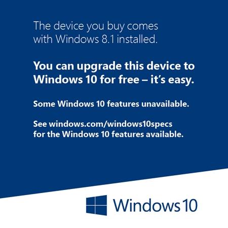 Campaña de Microsoft para Tiendas.