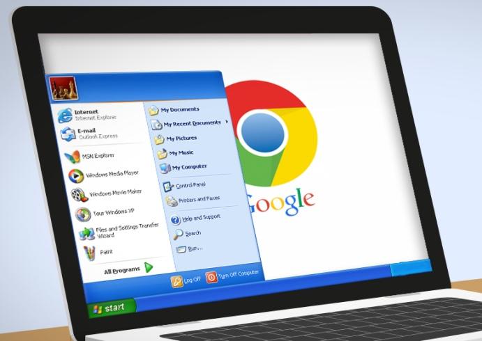Google Chrome Windows-XP