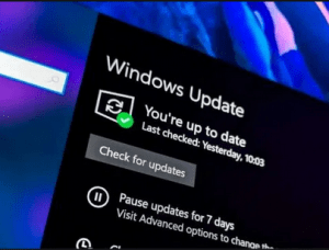 Windows 10 Actualizado